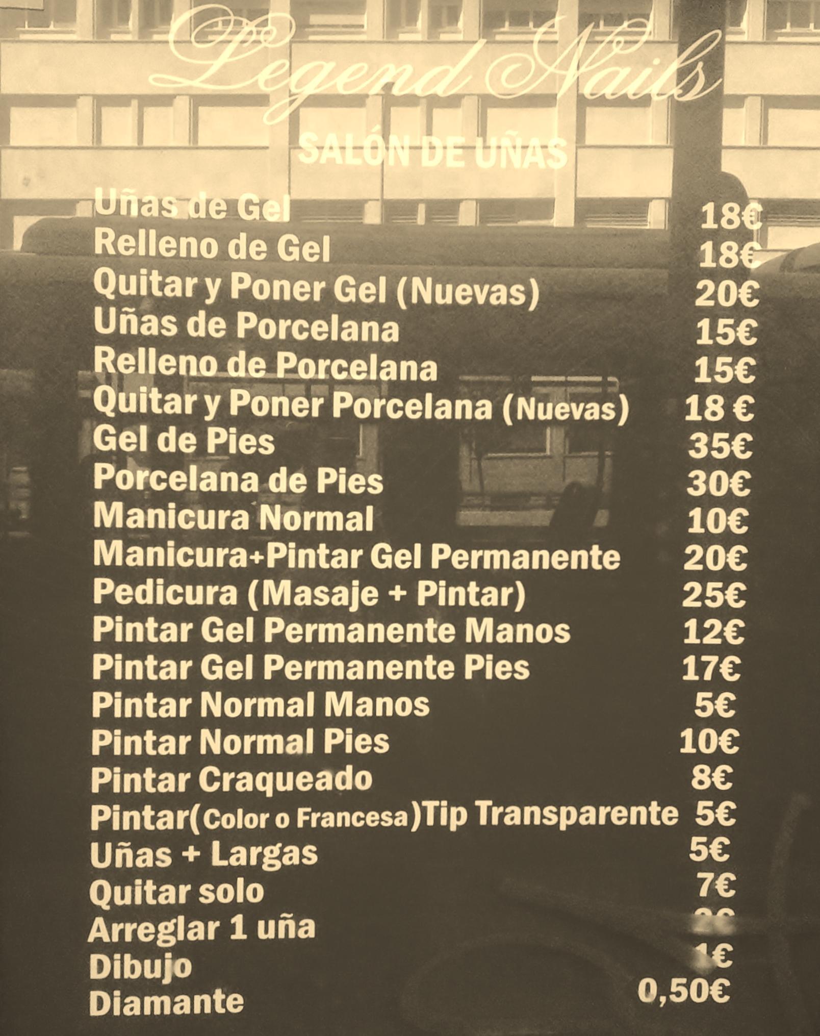 Uñas De Porcelana A 15 Euros Madridme