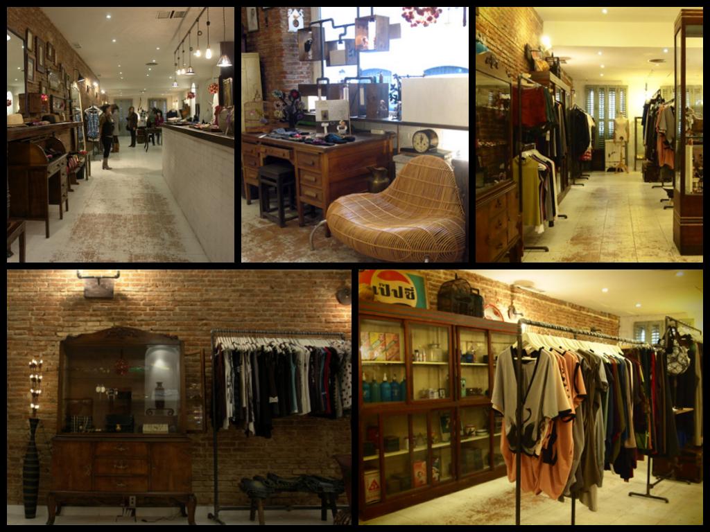 Decoracion Tiendas Vintage. Awesome Decorar Con Maletas Antiguas How ...